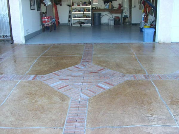Residential Cement Flooring